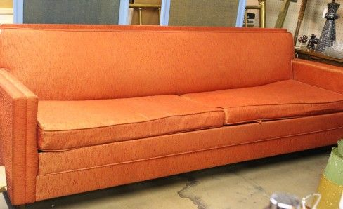 Vinyl Slipcovers Sofa Reupholstery Furniture Design Home Orange