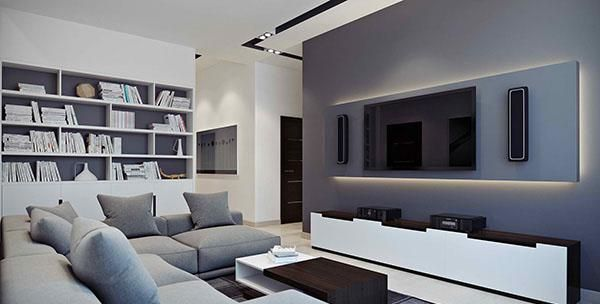 Ordinaire 15 Black And White Living Room Ideas