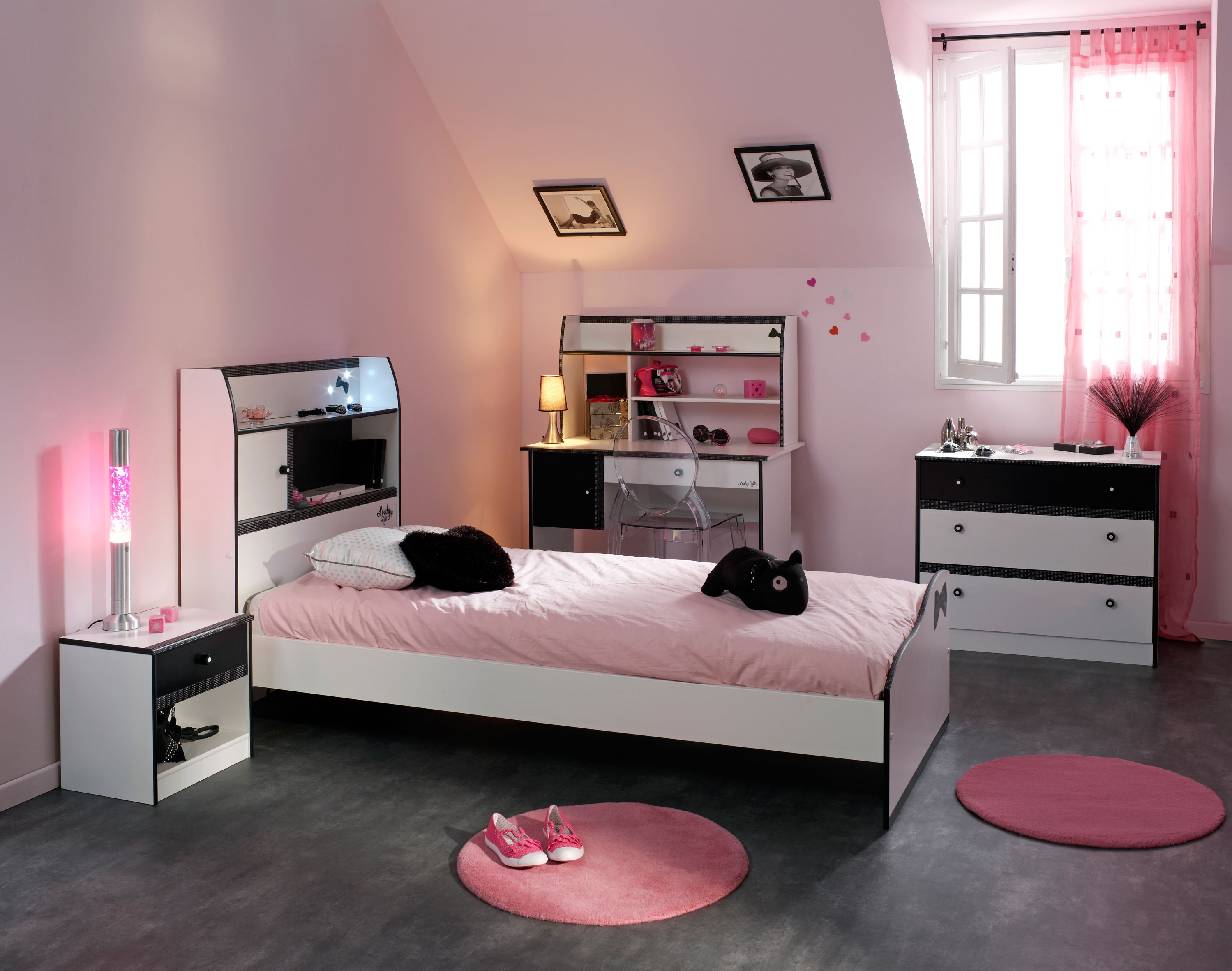 Stylish Chambre Ado Fille Moderne 17 Chambre Ado Fille Ikea With