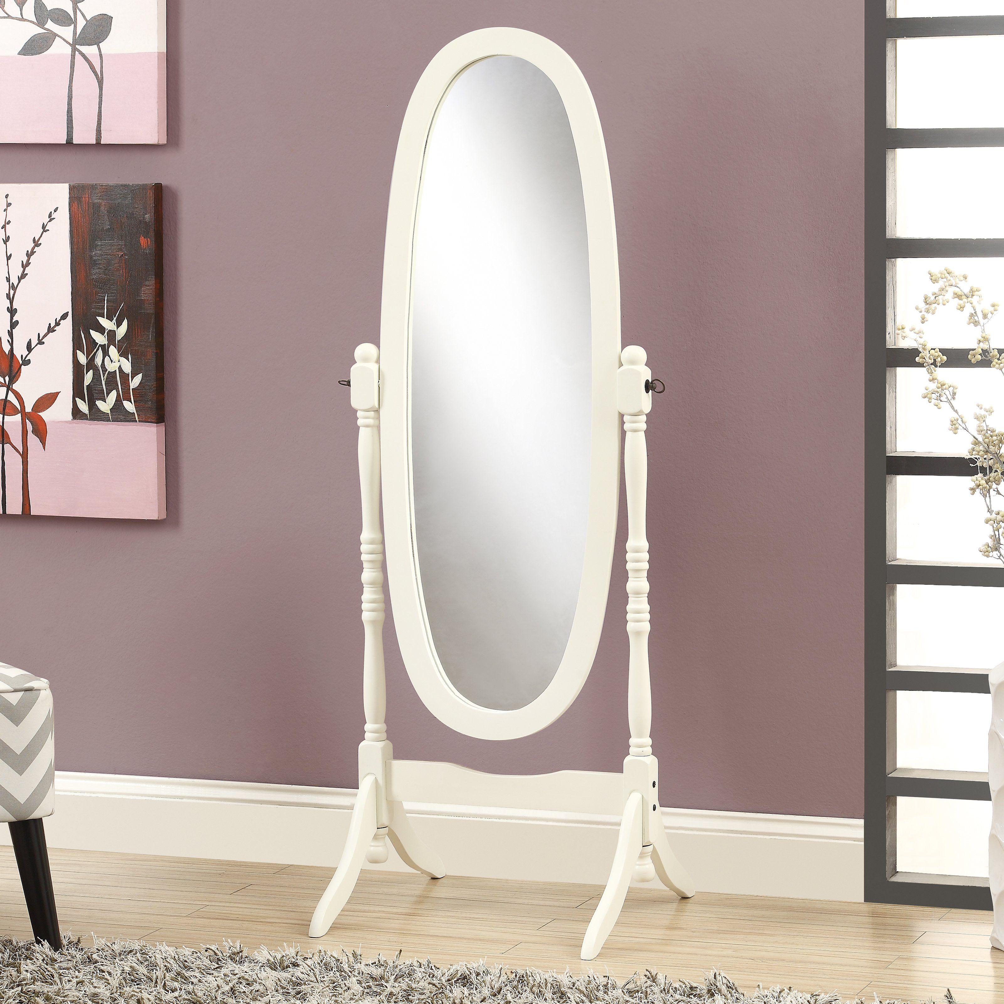 Monarch Oval Standing Mirror Floor Mirror Standing Mirror