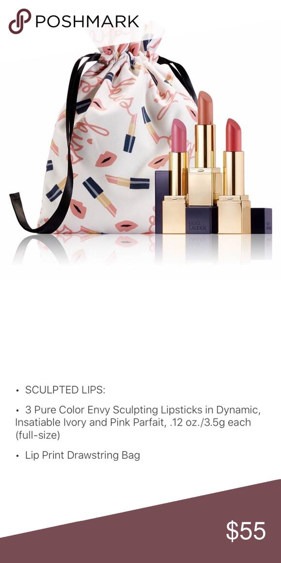 Estée Lauder Gift 🎁 set of 3 lipsticks 👄 💄 NWT in 2020