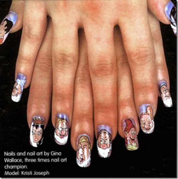 Unusual Nail Designs 16 Makes Me Smile Nails Pinterest