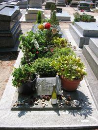 Jean Carmet, cimetière de Montparnasse
