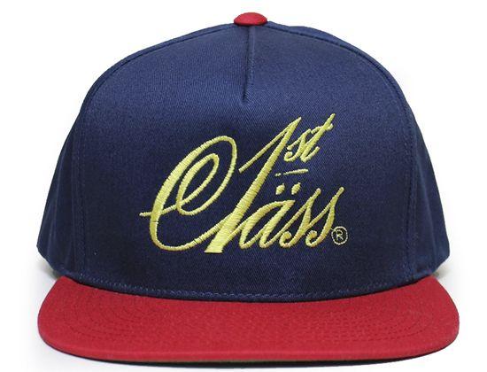2e3b64da Classic Logo Snapback Cap by 1ST CLASS   Snapback Caps   Snapback ...