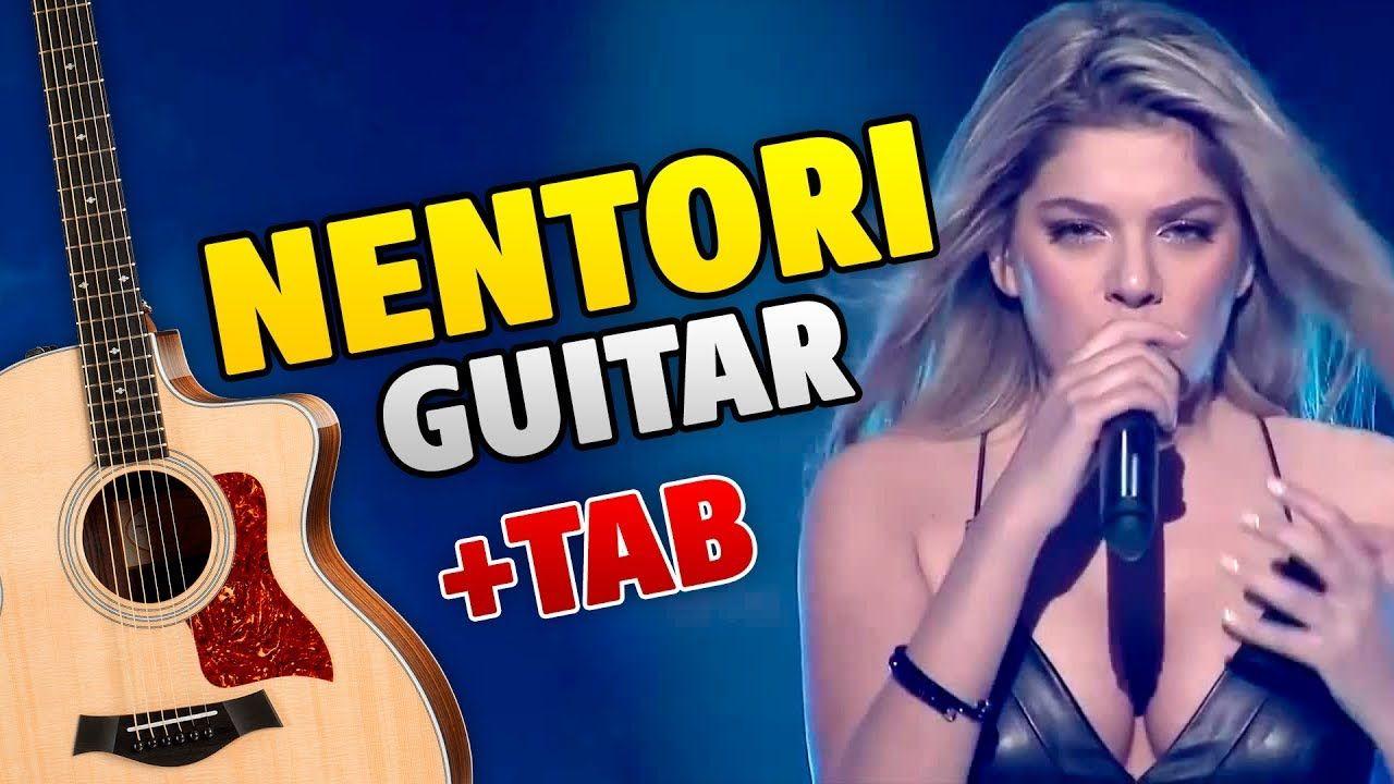 Arilena Ara Nentori Fingerstyle Guitar Cover With Tabs And Karaoke Fingerstyle Guitar Guitar Tabs Karaoke
