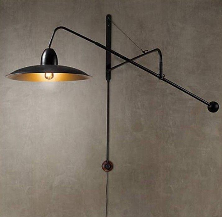 lighting - 1940s architectural boom sconce_restorationhdwre 450 ...