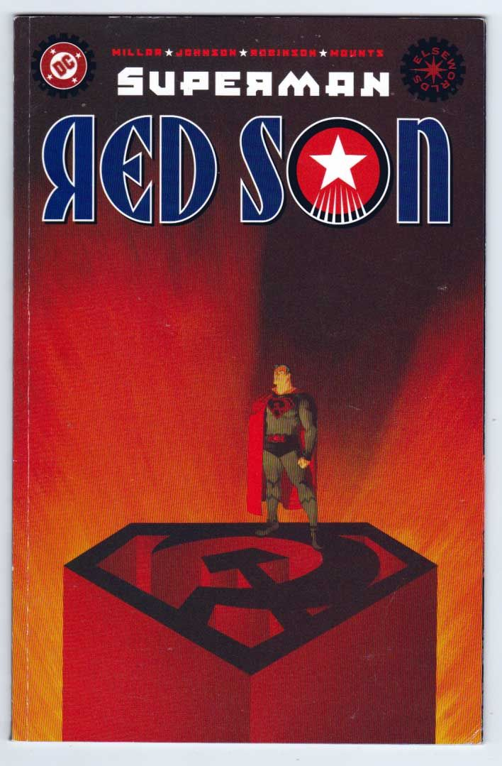Superman Red Son 1 Soft Cover Prestige Format Elseworlds Dave Johnson Cover Superman Red Son Superman Comic Rare Comic Books