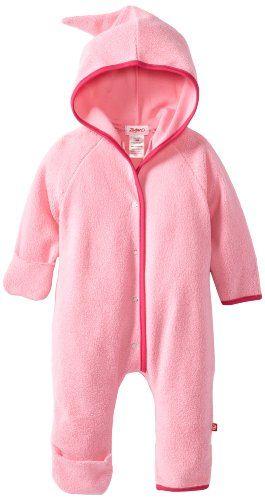 4615947d45c2 Zutano Unisex Baby Cozie Fleece Elf Romper