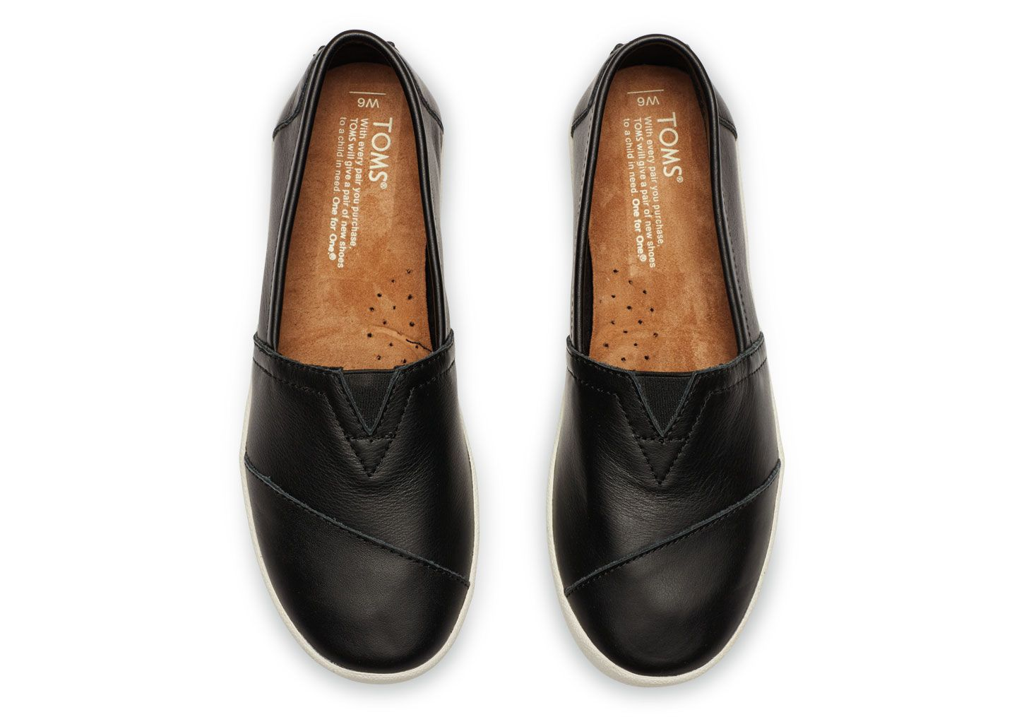 A pair in leather would be great! The Avalon features all the slip-on  goodness of TOMS Classics dfc3716129