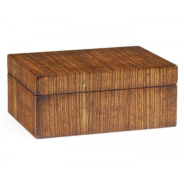 Where To Buy Decorative Boxes New Buy Stylish Zebrano Decorative Box  Wooden Trinket Box  Swanky Design Decoration