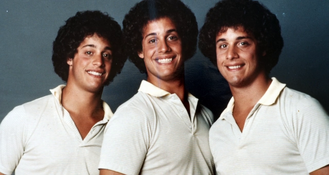 Identical triplets become separated at birth and adopted by three ...