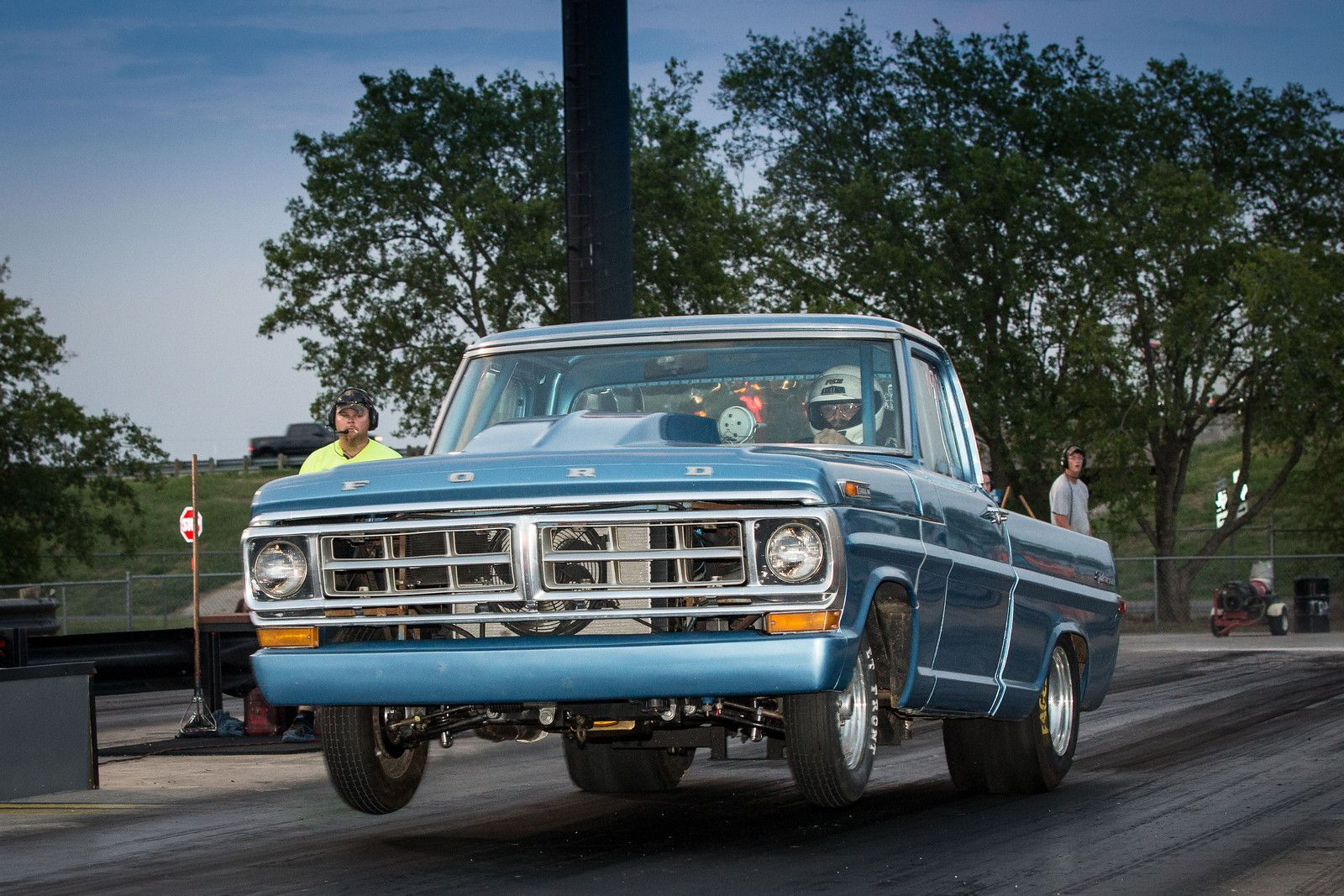 Keith Stanley's Ford Drag Truck