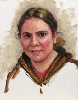 Susan Carlin Art Journal: Day Twenty-Eight - 30 Paintings in 30 Days - Mo