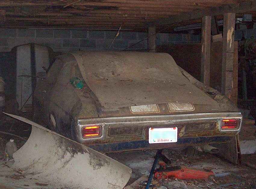 barn find muscle car pic | Junkyard Life: Classic Cars, Muscle ...