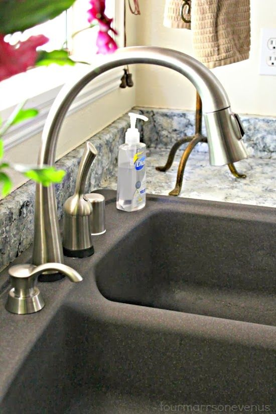 Delta Pilar Touch2O Kitchen Faucet Rocks! #nationalbuildersupply