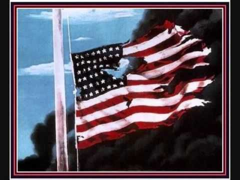 This Is Johnny Cash 39 S Ragged Old Flag Set To Some Patriotic Photos Johnny Cash Flag Tv Tropes