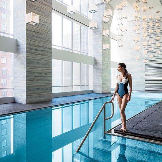 Making a splash the new park hyatt new york where we 39 ve - New york hotels with swimming pools ...