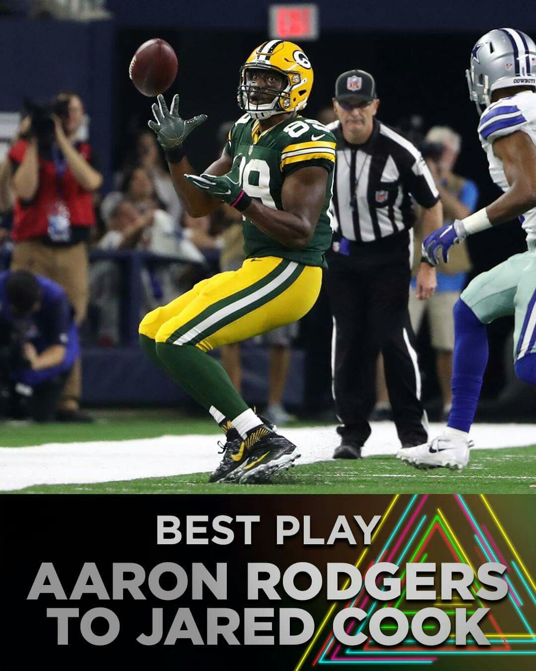 Best Play Jared cook, Green bay packers clothing