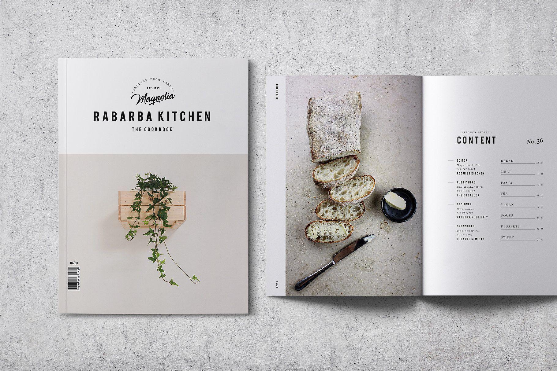 Cookbook Recipe Book V 02 Recipe Book Design Cookbook Design Recipe Book Templates