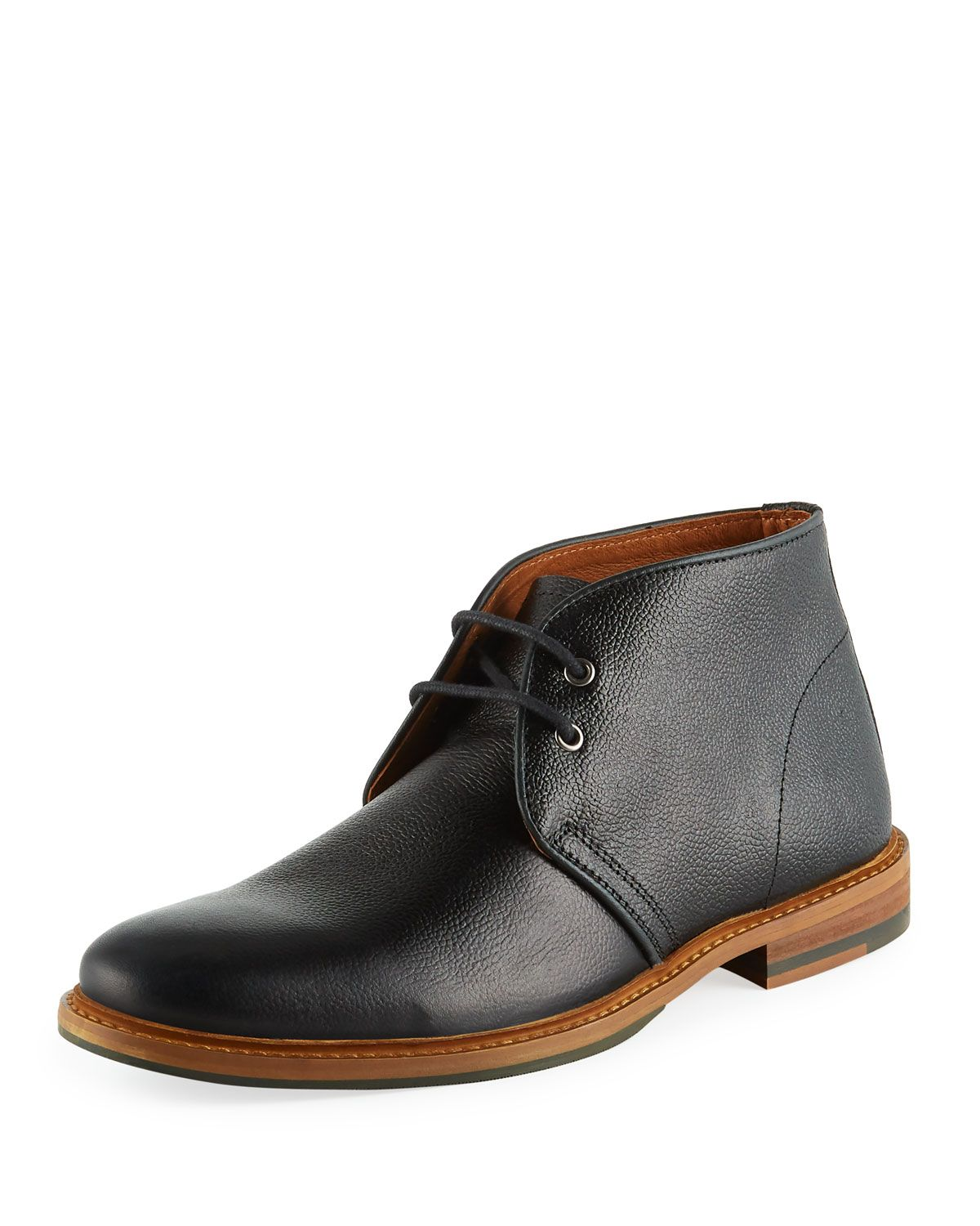 3a30c612b20 SUPPLY LAB MEN'S ELI LEATHER CHUKKA BOOTS. #supplylab #shoes ...
