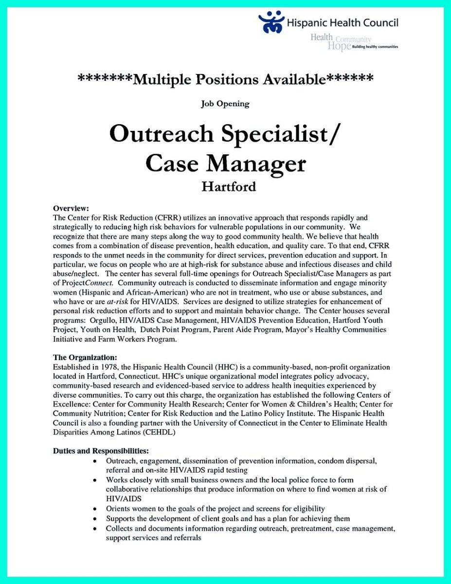 Case Manager Resume Nice Awesome Ways To Impress Recruiters Through Case Management