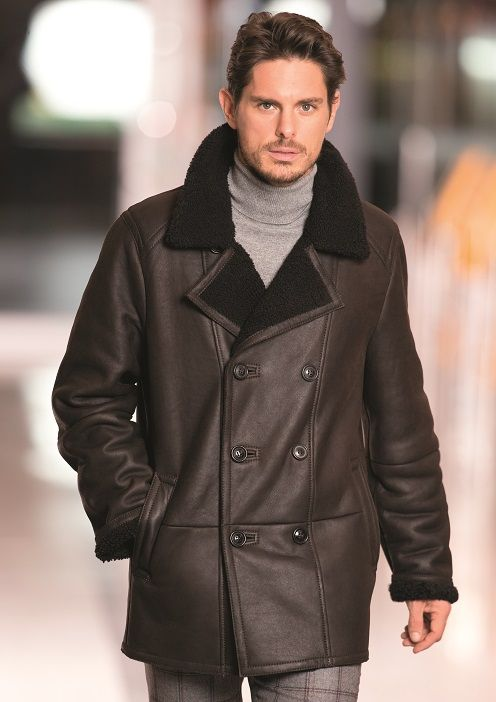 CHRIST Lammfelljacke für Herren Sheepskin Coat, Christen, Motorcycle Jacket,  Men Fashion, Leather a5b81d079e