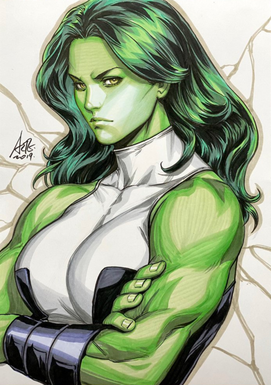 She Hulk By Artgerm Stanley Lau Hulk Artwork Shehulk Hulk Art