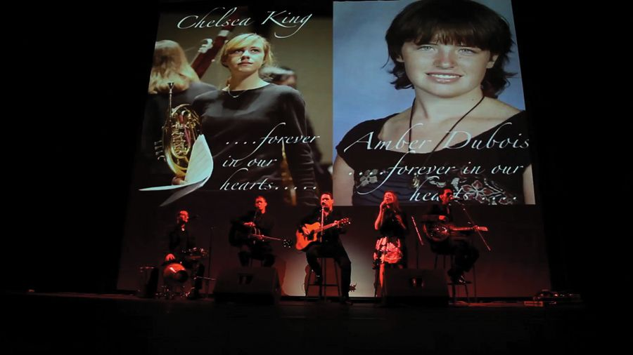 The Walking Phoenixes perform a memorial for two very special angels