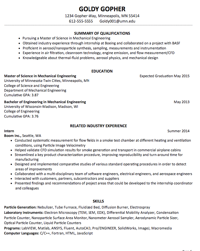 Pin By Victor Alugah On Projects To Try Sample Resume Resume