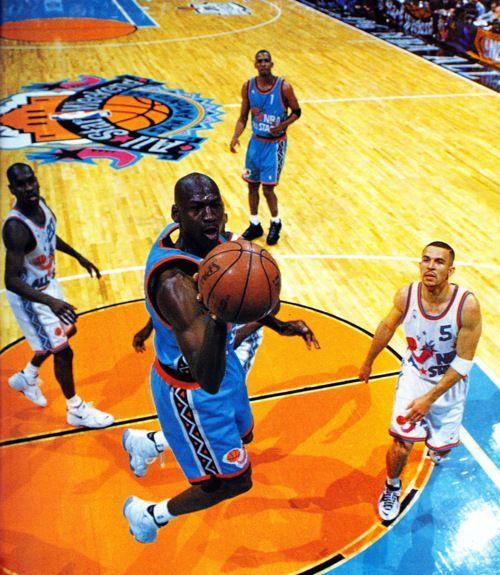 Michael Jordan All Star Game 1996