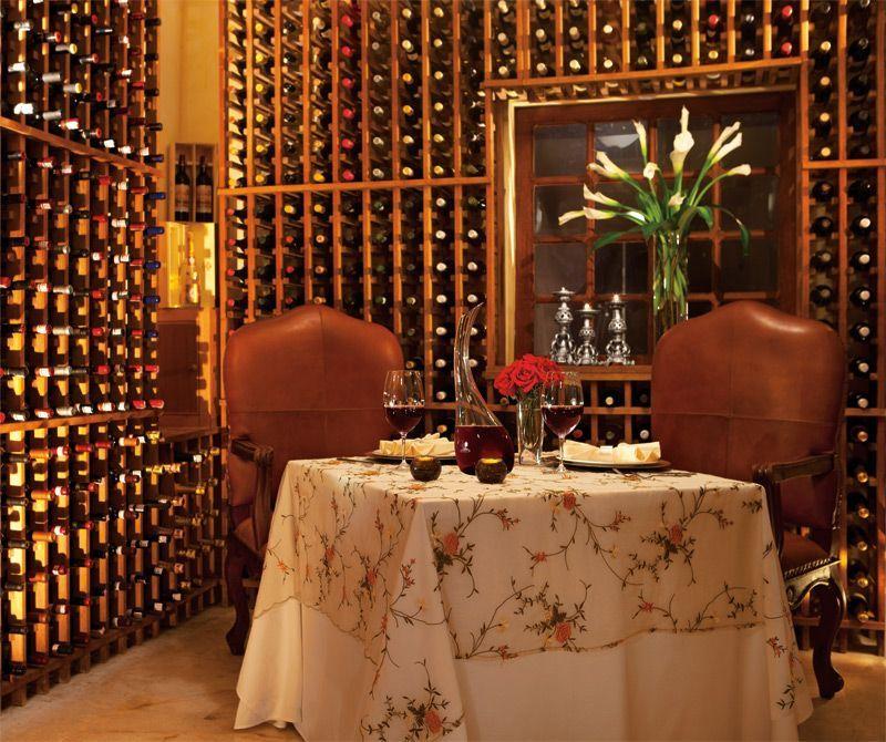 Enjoy Private Dining In The Wine Cellar At The Portofino