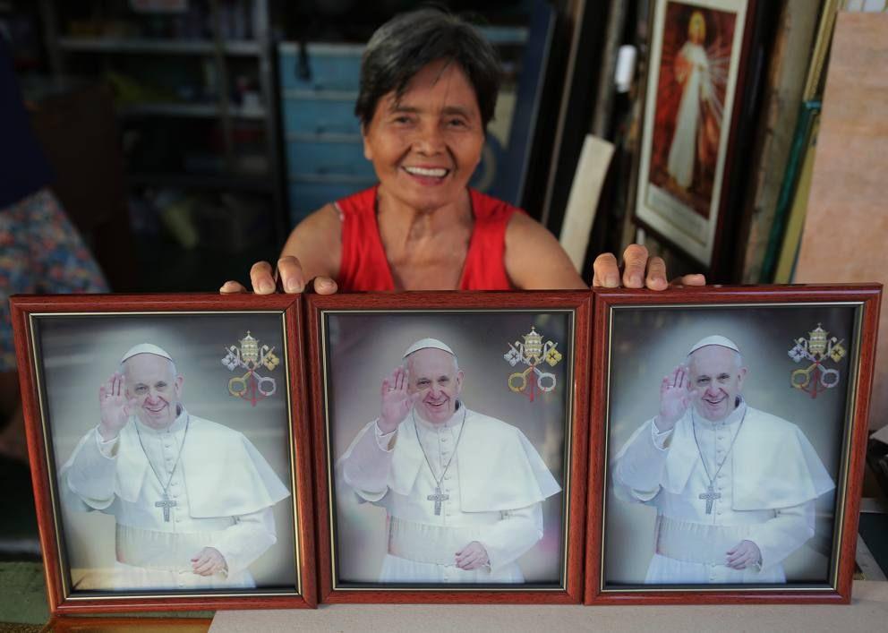 Pape François - Pope Francis - Papa Francesco - Papa Francisco : 15 janvier 2015 : Papa Francesco a Manila, nelle Filippine, la seconda tappa del suo viaggio apostolico in Asia, dopo lo Sri Lanka.