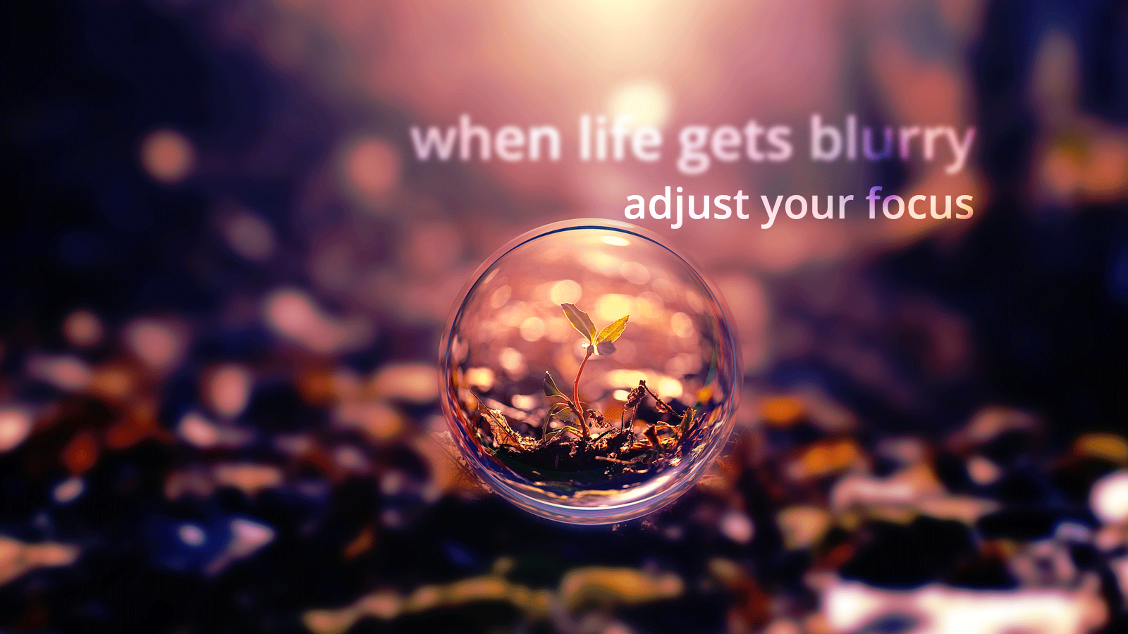 Cute Trendy Wallpapers Quotes When Life Gets Blurry Adjust Your Focus Focus Life