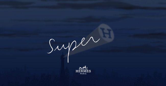 Hermès - Carré Minuit au faubourg ( Super H ) by Dimitri Rybaltchenko