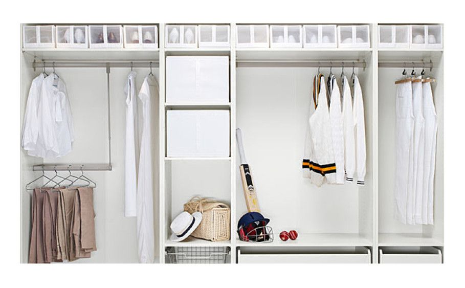 Pin by solm33 Media on Furnitured No closet solutions