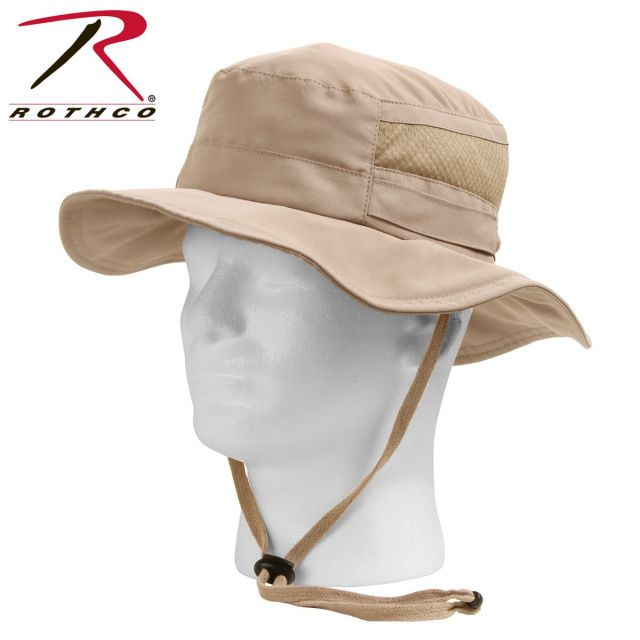 6275018bcbfe0 Rothco Lightweight Adjustable Mesh Boonie Hat
