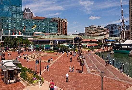 Stuff From The 50s In Photos Baltimore Inner Harbor