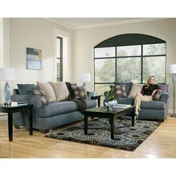 Mindy Indigo Loveseat Love Seat Options Living Room Sets Furniture Home Decor Trending Decor