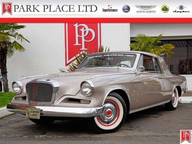 1962 Studebaker Gt Hawk 2 Dr Coupe For Sale 1819989 Hemmings Motor News Cars For Sale Classic Cars Cool Car Pictures