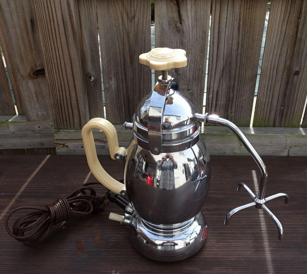 RARE Vintage VULCAN Italy Coffee Espresso Maker Bakelite