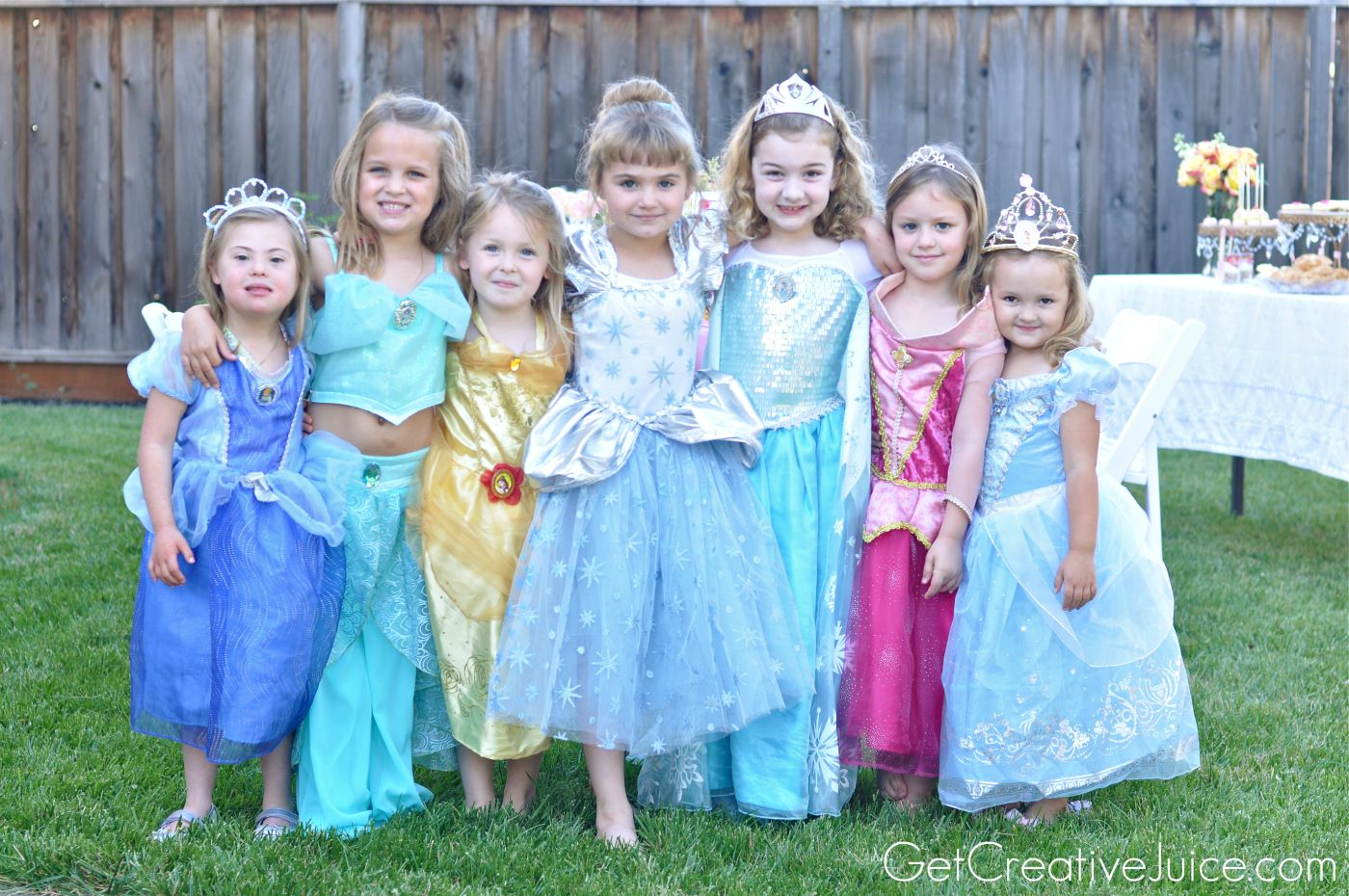 Princess Party Dress up | Birthday 2016 | Pinterest | Princess party ...