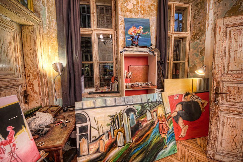 Богемный бутик отель Brody House в Будапеште
