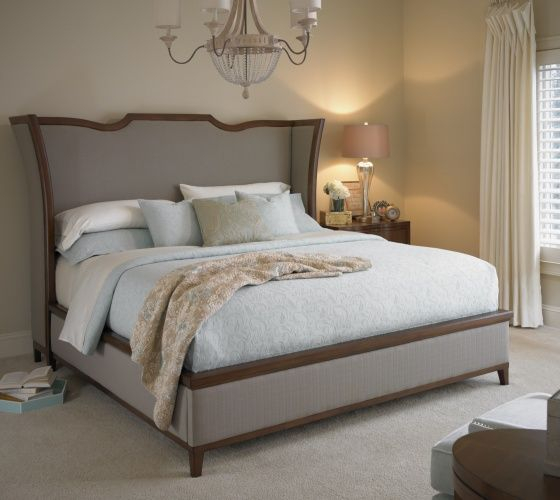 Upholstered Bed | Claire de Lune | Sleeping | Somerton Dwelling ...