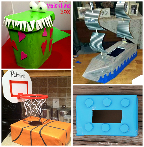 Awesome Valentine Card Boxes Boys will Love  Boys Box and Holidays
