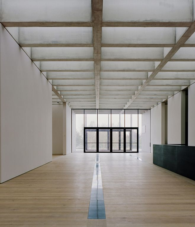 Captivating Concrete Coffered Ceiling David Chipperfield   St. Louis Art Museum Looking  North Through The East Building Hall. Image Courtesy Of The Saint Louis Art  ...