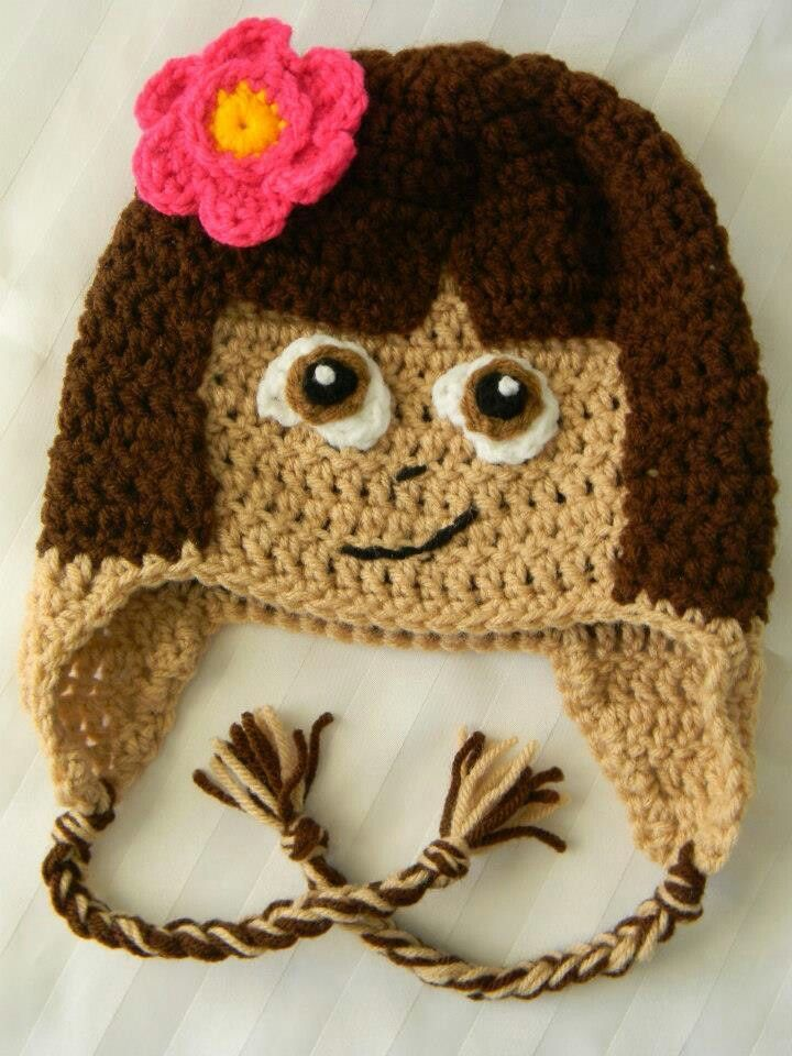 Luty Artes Crochet: Gorros temáticos | 2 | Pinterest | Mütze häkeln ...