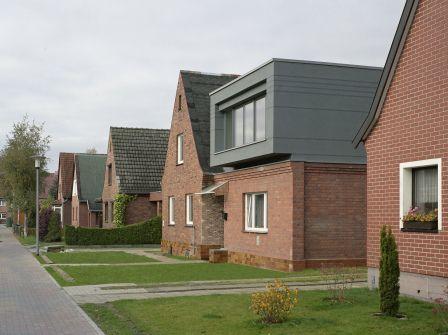 Straßenansicht SüdOst Haus Vannauer Umbau und