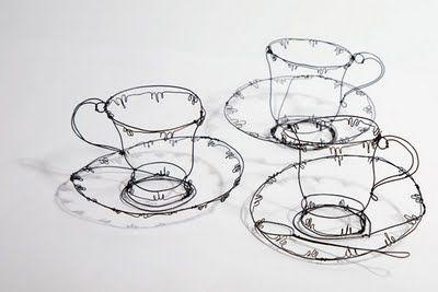 wire work art - Cerca con Google