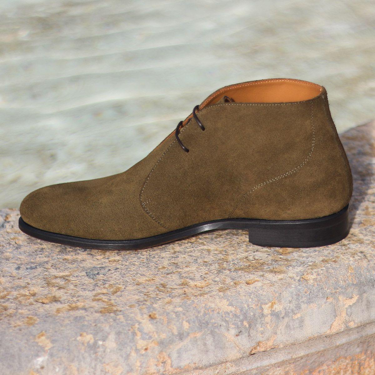 Custom Made Men's   Chukka boots, Boots