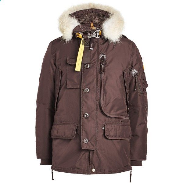 Parajumpers Kodiak Down Jacket (1,490 CAD) ❤ liked on Polyvore featuring mens fashion,